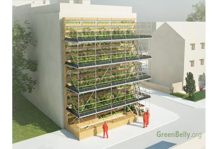 Vertical Urban Garden by Alex Losada